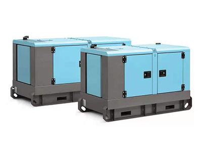 8KW扬动柴油静音发电机组(单相 50HZ)