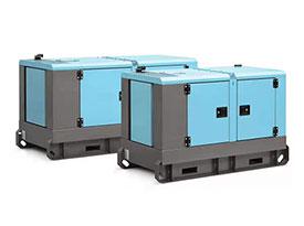 8KW扬动柴油静音发电机组(三相 50HZ)