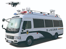 5KW取力发电机供电系统(考斯特无人机反制车)
