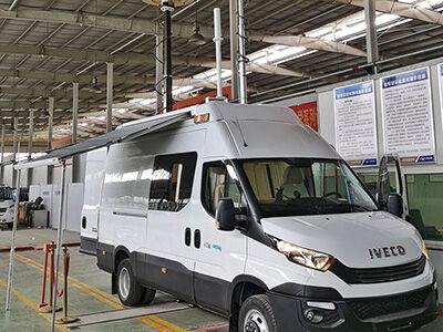 6KW取力发电机供电系统(依维柯欧胜无线电监测车)