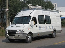 5KW取力发电机供电系统(依维柯气象雷达车)