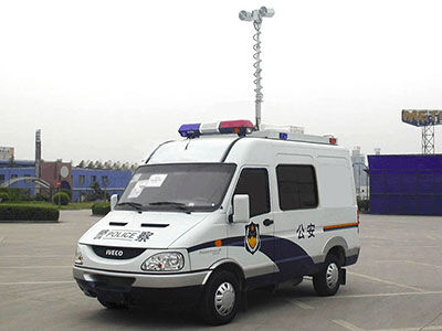 6KW取力发电机供电系统(依维柯通讯指挥车)