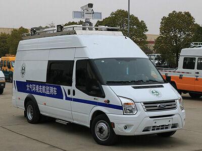 5KW取力发电机供电系统(福特新全顺长轴环境检测车)