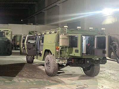 4KW取力发电机供电系统(北汽勇士通信指挥车)
