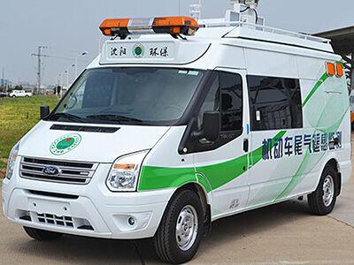 4KW取力发电机供电系统(福特新世代尾气监测车)