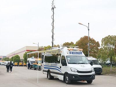5KW取力发电机供电系统(依维柯欧胜环境检测车)