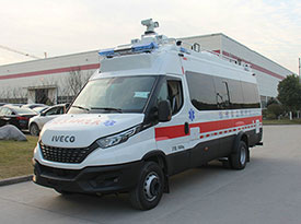 4KW取力发电机供电系统(依维柯急救指挥车)
